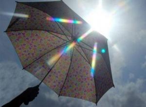 Жару в Волгодонске должен сбить небольшой дождь