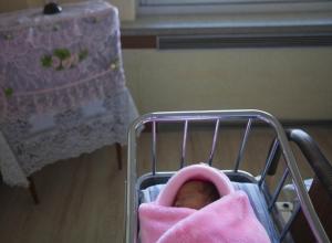 Первым родившемся ребенком 2018 года в Волгодонске стала девочка