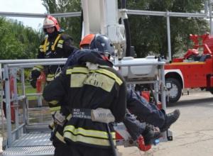 Главк МЧС Ростовской области проверил профессионализм пожарных по охране РоАЭС