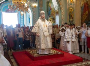 В день Преображения Господня во всех храмах Волгодонска прошли праздничные богослужения