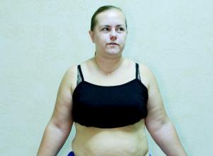 37-летняя Вероника Сорокина в проекте «Сбросить лишнее»