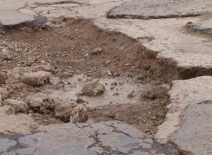 Дорожники объяснили, почему трасса «Волгодонск-Ростов» превратилась в труху