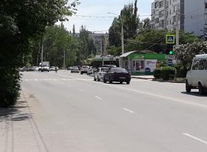 В Волгодонске изменили линию разметки в районе «Метелицы»