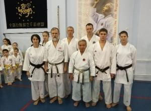 Для волгодонских каратистов ноябрь оказался очень «медальным»