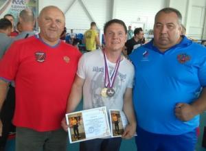 Волгодонец занял призовые места на Кубанском турнире по армрестлингу
