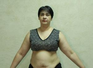 42-летняя Наталья Харисова в проекте «Сбросить лишнее»