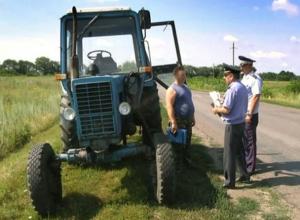 Тракторы в Волгодонске на протяжении месяца будут проверять по полной