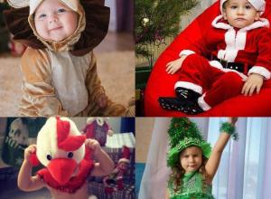 Топ самых необычных костюмов участников конкурса «Детский новогодний костюм»