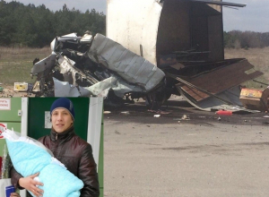 Появилось видео с места жуткой аварии, в которой погиб молодой отец из Морозовска