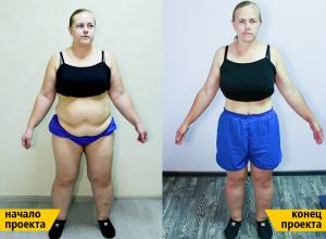 Весы стали «улыбаться» волгодончанке Веронике Сорокиной, похудевшей на 30 кг