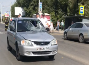 Сбитый на Морской пешеход скончался в БСМП Волгодонска