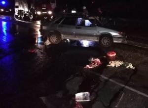 Умер водитель ВАЗ-2115, попавший в ДТП на Цимлянском мосту