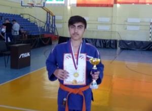 Волгодонец Низами Тагиев стал победителем Открытого областного турнира по дзюдо