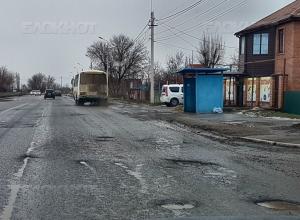 Подрядчик должен устранить ямы на свежеотремонтированных дорогах Волгодонска к маю