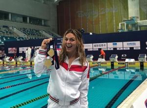 Юлия Ефимова завоевала три медали на этапе Кубка мира в Пекине