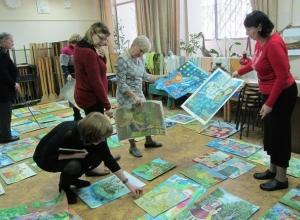 Юные волгодонцы продемонстрировали свои художественные таланты на всю Россию