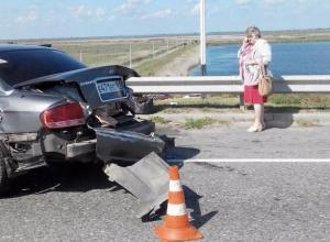 22-летний водитель пострадал в столкновении двух машин на трассе Ростов-Волгодонск