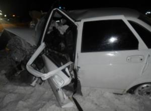 Два человека погибли в лобовом ДТП на автодороге Волгодонск-Дубовское