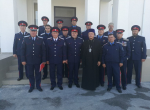 Казаки и волгодонская епархия обсудили предстоящее празднование Покрова Пресвятой Богородицы