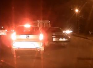 Уставшие от автохамства волгодонцы сняли видео многочисленных нарушений на улице Железнодорожная