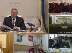Губернатор Голубев исключил возможность отмены масочного режима в Волгодонске