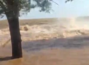 Цимлянское водохранилище затопило дачные участки в садоводстве «Мирный атом»