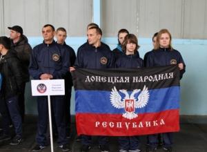Сборные ДНР и ЛНР приняли участие в соревнованиях по пожарно-прикладному спорту в Волгодонске