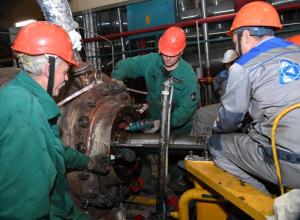 Во время планового ремонта на энергоблоке №1 Ростовской АЭС выполнена наладка перегрузочной машины и полярного крана