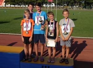 Юные волгодонцы взяли «бронзу» на Всероссийских соревнованиях «Шиповка юных»