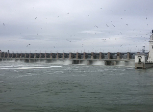 Приток воды к Цимлянскому водохранилищу еще увеличился
