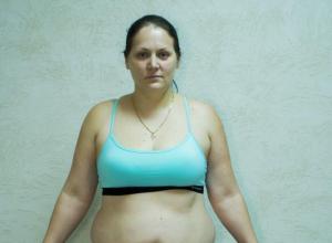 29-летняя Юлия Зайвая - участница «Сбросить лишнее»