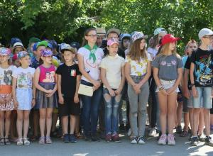 В детском лагере «Ивушка» открылась первая смена