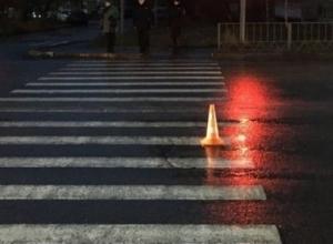 Она пролетела метров десять, - очевидцы о сбитой на пешеходном переходе женщине