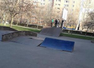 Инфляция «съела» скейт-парк у ДК имени Курчатова