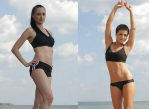 Две очаровательные «мамы на спорте» борются за звание самой спортивной девушки в конкурсе «Мисс FitUp»