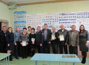 В Волгодонске полицейские поблагодарили водителей троллейбусов и автобусов за безопасное вождение