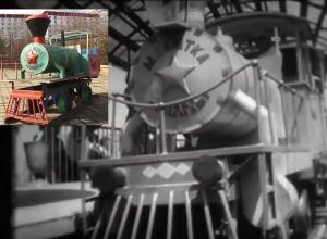 Каким был «при жизни» парк Дружбы или черно-белые сны паровозика «Малютка»
