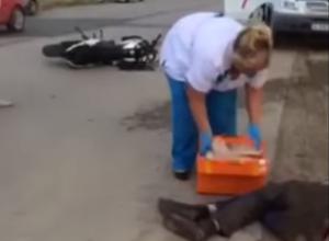 20-летней волгодончанке, разбившейся на мотоцикле в районе спецпричала, сделали трепанацию черепа