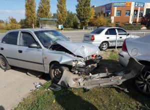 Серьезное ДТП с пострадавшими произошло на Морской в Волгодонске