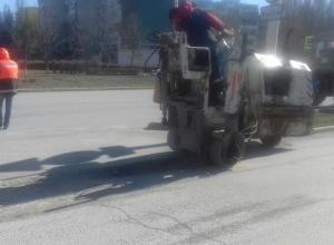 Ямочный ремонт в Волгодонске начался с проспекта Строителей