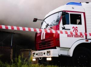 Волгодонцев предупреждают о сохранении пожароопасности пятого класса