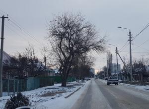 К вечеру среды в Волгодонске должен пойти снег