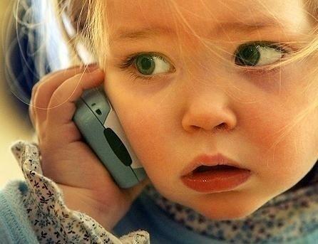 Фото детей с телефона