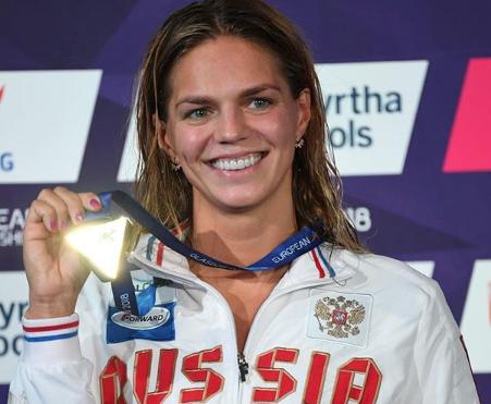 Юлия Ефимова стала абсолютной чемпионкой Европы