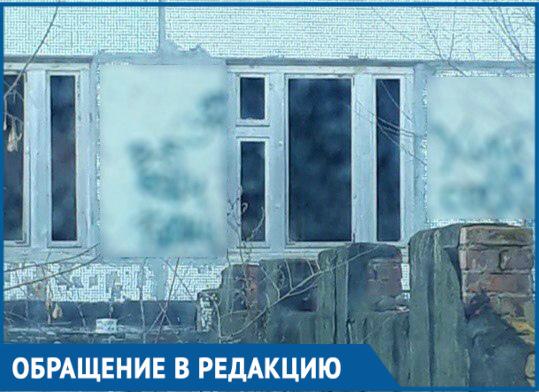 Вид из окна детской поликлиники на Гагарина возмущает родителей Волгодонска