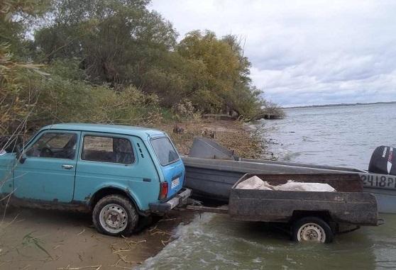 Около 35 кг рыбы изъяли у браконьера в Цимлянском водохранилище