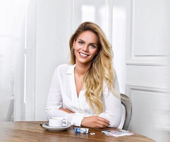 Юлия Ефимова стала лицом рекламной компании «Орбит»