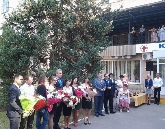 В семью медиков Волгодонска приняли пополнение