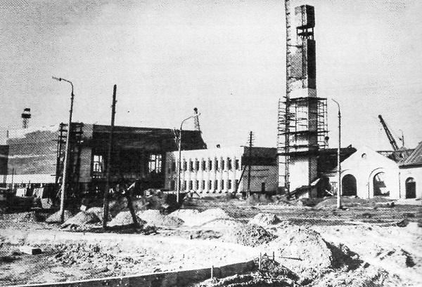 Волгодонск прежде и теперь: строительство железнодорожного вокзала