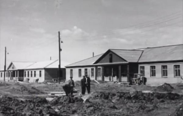 Волгодонск прежде и теперь: здание вневедомственной охраны